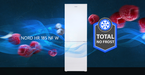 NORD HR 185 NF W - fresh products without ice and defrosting