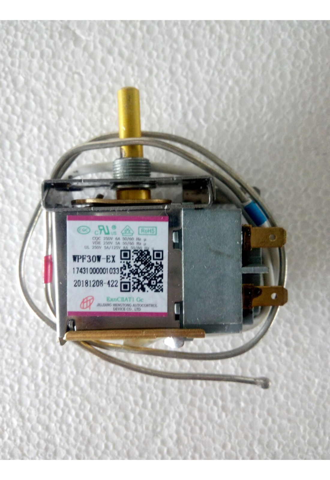 Термостат електронний WPF30W-EX (L150)